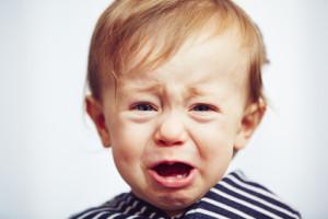 Baby weinen lernen