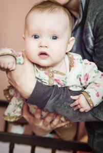 kopf streicheln baby