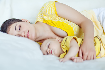 Baby zum schlafen bringen