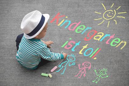 Kind weint Kindergarten